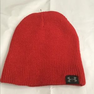 New Under Armour Man Hat Red Acrylic